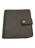 ()の古着「財布 / コンパクト・ジップ ミニウォレット」|ブラウン