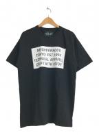 NEIGHBORHOOD(ネイバーフッド)の古着「プリントTシャツ」|ブラック