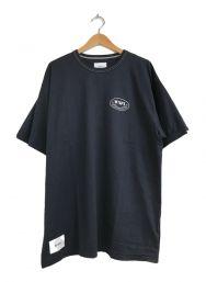 WTAPS (ダブルタップス) プリントTシャツ ネイビー サイズ:3 未使用品