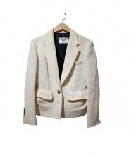 Yves Saint Laurent(イブサンローラン)の古着「テーラードジャケット」 ホワイト