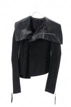 EKAM(エカム)の古着「レザー切替デザインジャケット」
