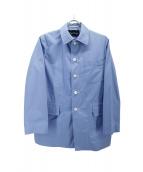 tricot COMME des GARCONS(トリコ コムデギャルソン)の古着「カバーオール」|ブルー