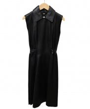 Acne studios(アクネストゥディオズ)の古着「ラムレザードレス」|ブラック