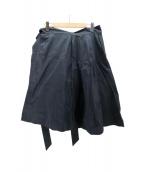 JIL SANDER NAVY(ジルサンダーネイビー)の古着「デザイン巻きスカート」