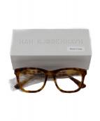 HAN KJOBENHAVN(ハン コペンハーゲン)の古着「眼鏡」|ベージュ