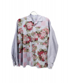 COMME des GARCONS HOMME(コムデギャルソンオム)の古着「フラワープリントシャツ」