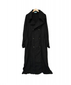 UNDERCOVER(アンダーカバー)の古着「オールドロングコート」|ブラック