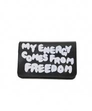 COMME des GARCONS(コムデギャルソン)の古着「CDG Message Wallet」|ブラック