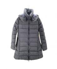 TATRAS(タトラス)の古着「ワッシャーナイロンダウンコート」|ブラック