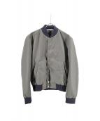 KENZO(ケンゾー)の古着「バッグ刺繍ブルゾン」|オリーブ
