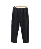 UNUSED(アンユーズド)の古着「WOOL EASY PANTS」|ブラック
