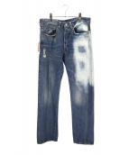 Levi's VINTAGE CLOTHING(リーバイスヴィンテージクロージング)の古着「501XX 1947年モデルデニム」 インディゴ