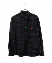 SOPHNET.(ソフネット)の古着「CAMOUFLAGE FLANNEL CHECK B.D S」