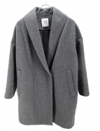 1er Arrondissement(プルミエ アロンディスモン)の古着「カシミア2重メルトンショールカラーコート」