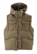 THE NORTHFACE PURPLELABEL(ザ・ノースフェイス パープルレーベル)の古着「65/35 Hooded Sierra Vest」|ベージュ