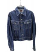 Lee×THE REAL McCOYS(リー×ザ・リアルマッコイズ)の古着「デニムジャケット」 インディゴ