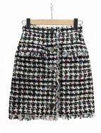 GRACE CONTINENTAL(グレースコンチネンタル)の古着「ツイードスカート」