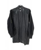 BLACK COMME des GARCONS(ブラックコムデギャルソン)の古着「切替ジャケット」|ブラック