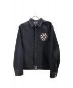 BURBERRY BLACK LABEL(バーバリー・ブラックレーベル)の古着「デニムジャケット」