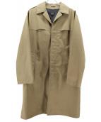 A.P.C.(アーペーセー)の古着「ステンカラーコート」|ベージュ