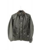and wander(アンドワンダー)の古着「oiled TC jacket」