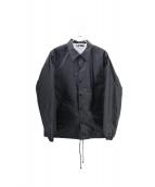 CDG(コムデギャルソン)の古着「CDG LOGO COACH JACKET/ コーチジャケッ」|ブラック