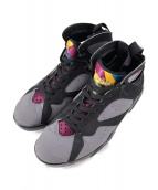 NIKE(ナイキ)の古着「AIR JORDAN 7 RETRO BORDEAUXAIR」|グレー