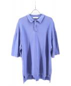 Graphpaper(グラフペーパー)の古着「Suvin Polo Shirt」