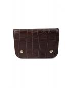 J&M DAVIDSON(ジェイエム)の古着「2つ折り財布」|ブラウン