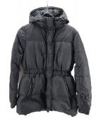 MONCLER(モンクレール)の古着「ファシア ダウンジャケット」|ブラック