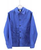 LE LABOUREUR(ル・ラブルール)の古着「ワークジャケット」|ブルー