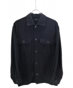 YS(ワイズ)の古着「サイドベルトシャツ」|ブラック