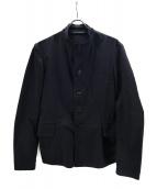 YOHJI YAMAMOTO(ヨウジヤマモト)の古着「スタンドカラージャケット」 ブラック