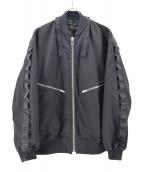 FLAGSTUFF(フラッグスタッフ)の古着「ジャケット」|ブラック