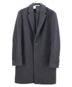 N.HOOLYWOOD(エヌハリウッド)の古着「CHESTER COAT/チェスターコート」|ブラック