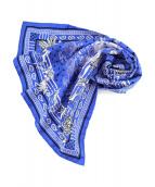 HERMES(エルメス)の古着「スカーフ」 ブルー