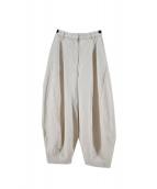 Rumche(ラムシェ)の古着「Denim Pants」 アイボリー