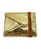 MM6(エムエムシックス)の古着「カードケース」|ゴールド