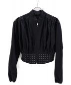 LIMI feu(リミフゥ)の古着「ジャケット」|ブラック