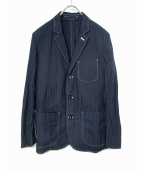 UNIVERSAL PRODUCTS.(ユニバーサルプロダクツ)の古着「ステッチジャケット」|ネイビー