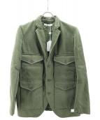 LIVING CONCEPT(リビングコンセプト)の古着「ジャケット」|オリーブ