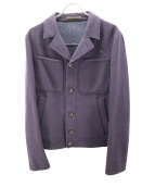 CARUSO(カルーゾ)の古着「ウールジャケット」 ネイビー