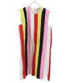 MSGM(エムエスジーエム)の古着「ノースリーブワンピース」|マルチカラー