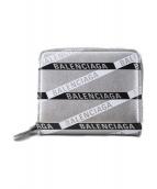 BALENCIAGA(バレンシアガ)の古着「2つ折り財布」|シルバー