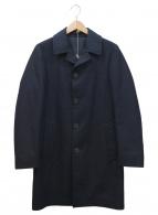 LARDINI(ラルディーニ)の古着「ステンカラーコート」|ネイビー