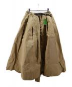 GRAMICCI × DICKIES × FREAKS STORE(グラミチ×ディッキーズ×フリークスストア)の古着「ボリュームスカート」|ベージュ