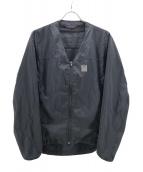 Needles Sportswear(ニードルズスポーツウェア)の古着「WARM-UP V NECK JACKET」|ブラック