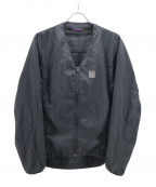 Needles sportswear(ニードルズスポーツウェア)の古着「WARM-UP V NECK JACKET」 ブラック