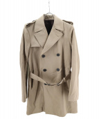 LARDINI(ラルディーニ)の古着「トレンチコート」|ベージュ