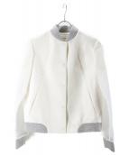 LE CIEL BLEU(ルシェルブルー)の古着「切替ジャケット」|ホワイト